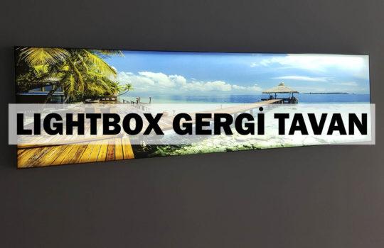 lightbox gergi tavan